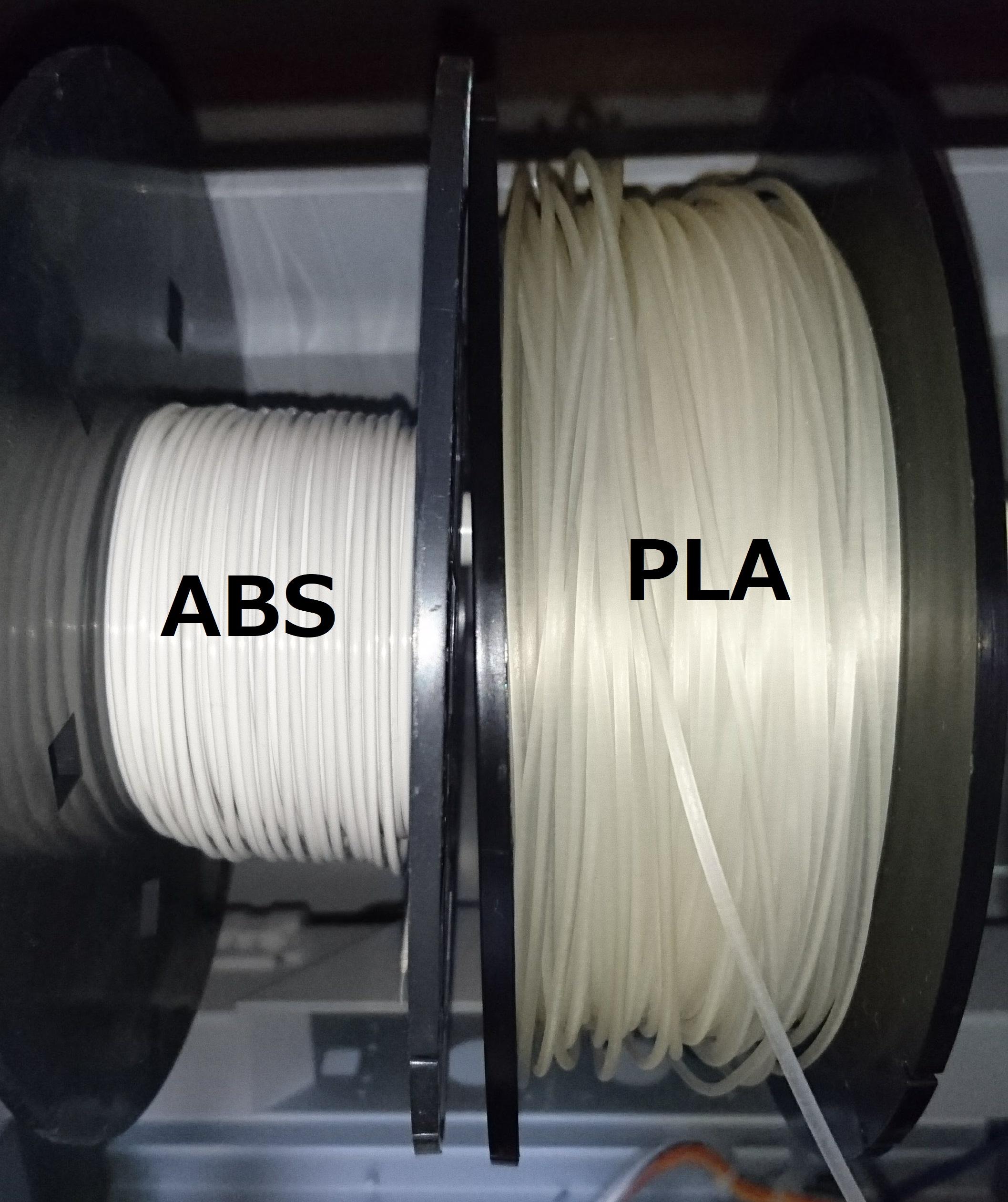 3DプリンターABS樹脂とPLA樹脂の特徴