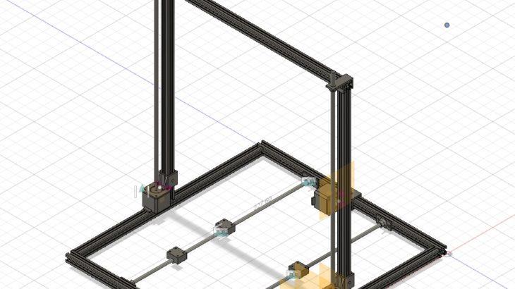 【#2】3Dプリンターを作る 設計編