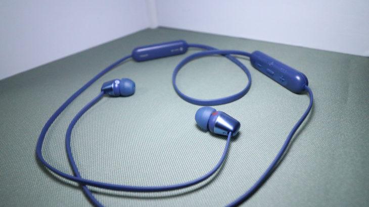 【WI-C310】SONY・Bluetoothイヤホンレビュー