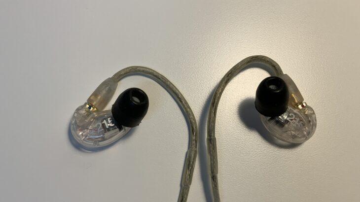 ShureSE215をレビュー・最高のイヤホン ノイズキャンセルイヤホンよりもノイズキャンセル