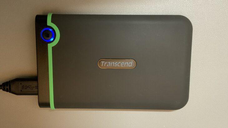 【Transcend】外付けHDDを購入したらまずやるべきこと・MacとWinでデータを共有したい